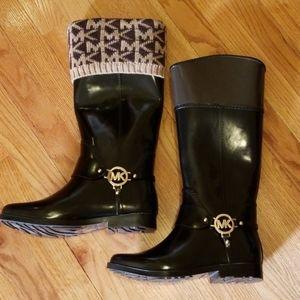 Preloved Michael Kors Rain Boots